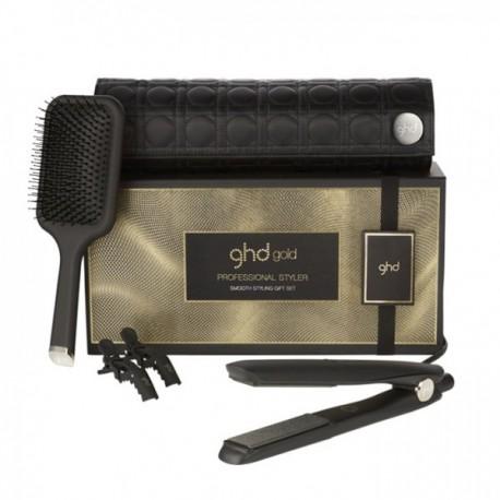 Kit Ghd Smooth Styling gift set (NewGold-Paddle)