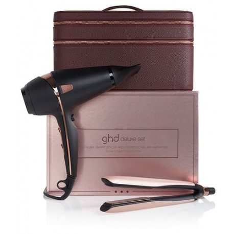 GHD DELUXE SET ROYAL DYNASTY PLATINUM+&AIR PHON