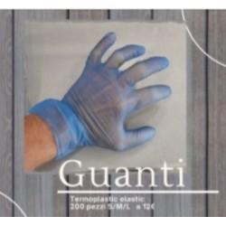 Guanti Termoplastic Elastici Monouso 200pz Tg.L